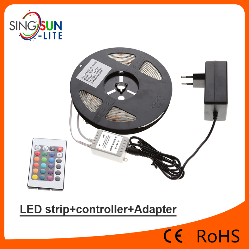 Aluminum profile high quality SMD5050 rgb dream color led strip light 30led/m aluminum profile led strip light