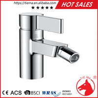 bidet faucet with single lever