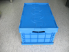 Plastic collapsible crate ,plastic collapsing folding crate