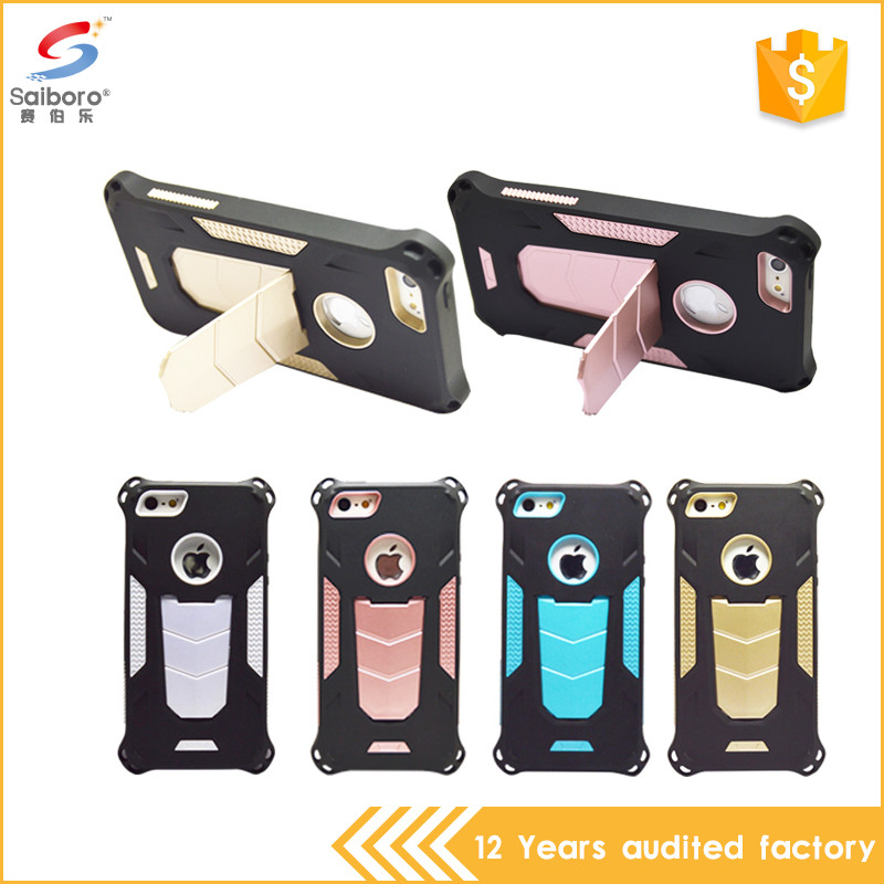 Low moq tpu pc kickstand new colorful case for iphone5