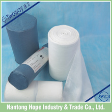 non-sterile bleached medical gauze pieces roll