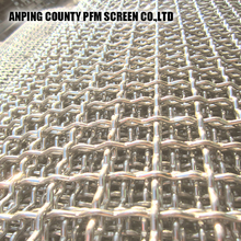 Stainless Steel Woven Metal mining Wire Mesh screen