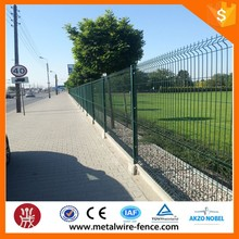 Powder Coated Artificial Plants Wire Mesh Garden Fence