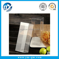 Custom Transparent PVC Folding Packaging Box with Film Covered