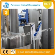 Portable 8000bph@500ml automatic mineral agua filling engine for Chile