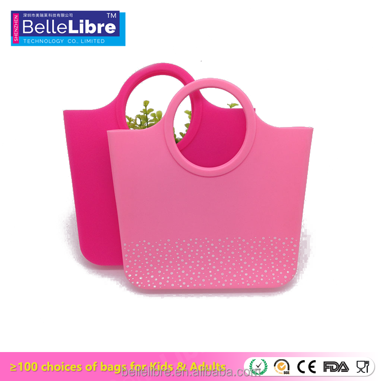 Promotion Silicone mini lady handbag