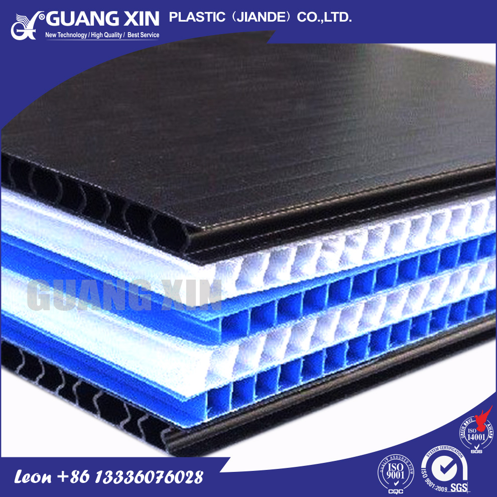 Easy to be printed plastic corrugated roofing sheet