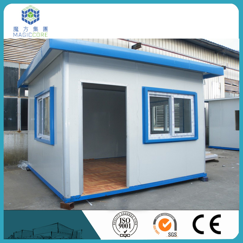 customized strength h steel mobile guard container house affordable easy quick build high quality security house