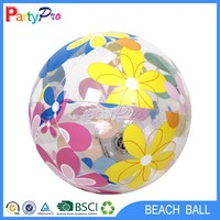 hot China products wholesale ningbo haishu manufactory transparent pvc inflatable earth globe beach ball