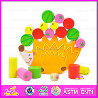 2015 Promotional Toys Cheap kids wooden balance toy,Colorful wooden toy balance game toy,Funny cheap wooden balance toy W11F002