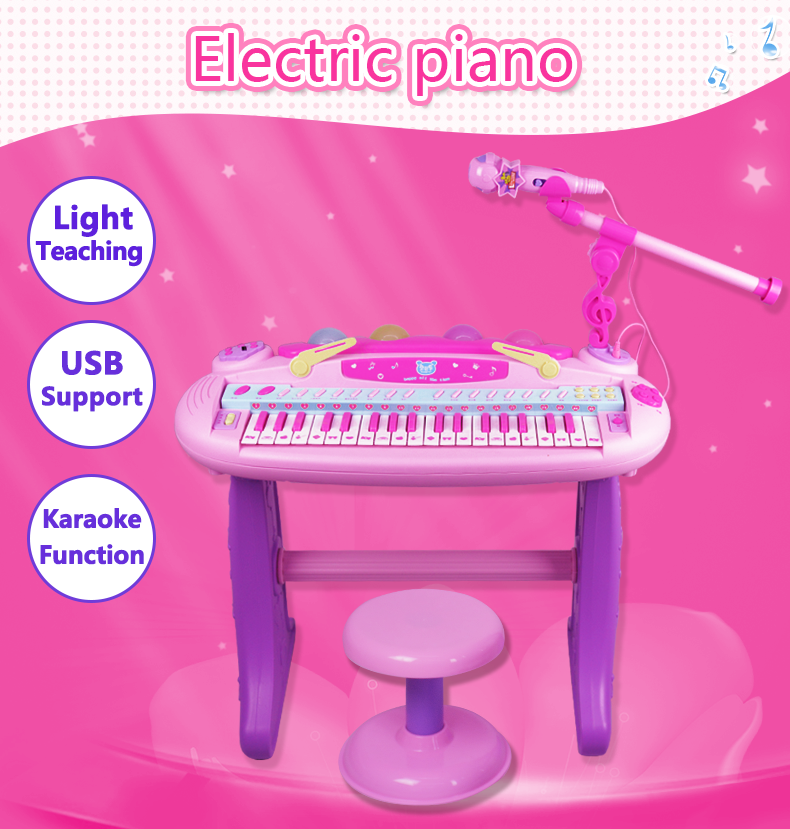 OEM grand mini children popular kids electronic toy piano
