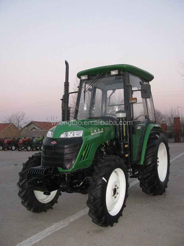 Hot sale 40hp 45hp 55hp 60HP 4WD cheap farm tractor/agricultural tractor with CE & ISO certificate china factroy