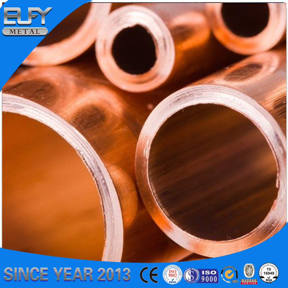 Favorable copper product refrigeration high pressure copper tube