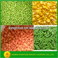 Seasoned Bulk Frozen Mixed Vegetables with Competitive Price