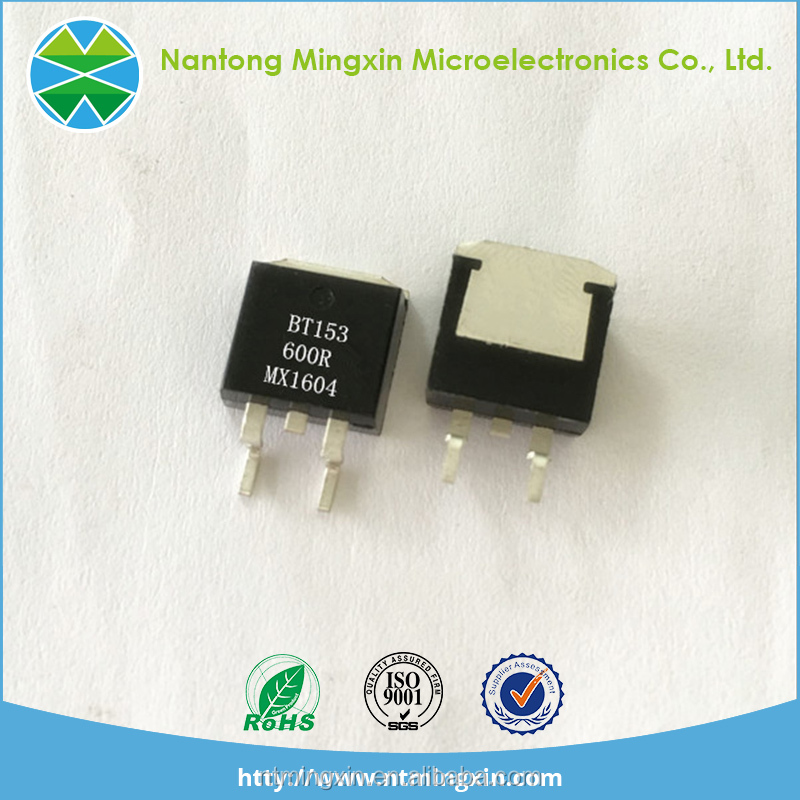 Supply high quality Voltage regulator SCR BT153 TO-263