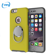 Wholesale 360 degree rotation ring holder mobile phone case for iphone7