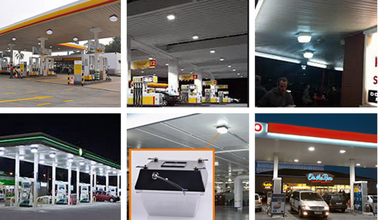 High quality led canopy light,led gas station canopy lights led garage ceiling light