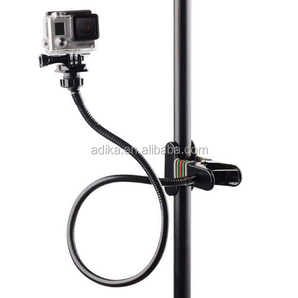 Gopros cameras to clip hero4/3+/3/2, sports camera filming stand bend metal clip GP345