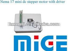 17HM3630 Nema 17 mini dc stepper motor with driver