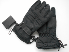 2016 hot sales ski snowboard motorcycle rechargeable battery heated gloves