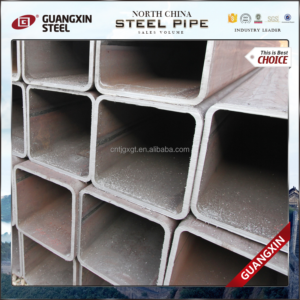 bs1387/astm a500 ms hollow section steel pipe/square tube material specifications