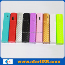 New LED powerbank 2600mah for mobile phone charger