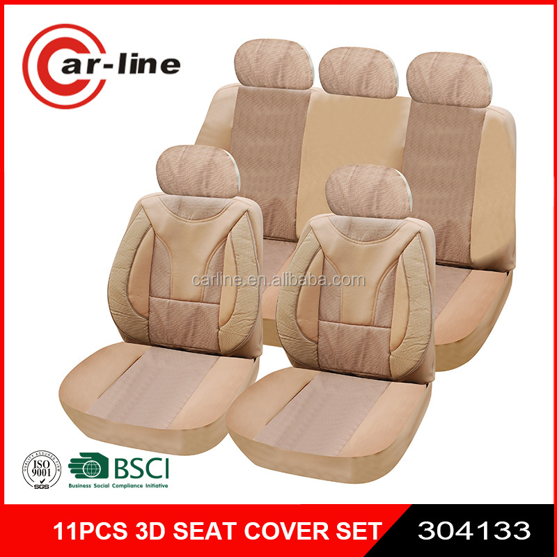 2016 NEW 11PCS 3D LUXURY FULL SEAT COVER FOR CAR