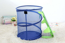 cartoon laundry basket folding and mesh laundry bag pop up laundry hamper