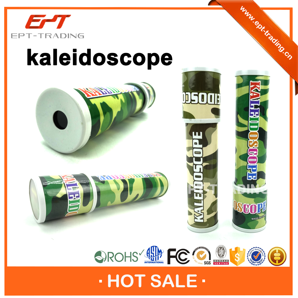 Military wholesale plastic kaleidoscope for kids