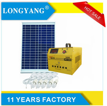 60w portable camping DC generator for home solar panel kit solar energy lighting system