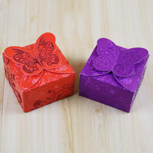 Beautiful butterfly party supplies decorations indian wedding gift box