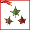 Metal Hanging Christmas Decoration Fold Paper
