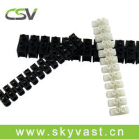 Plastic electrical connector strips H type