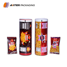 custom gravure print automatic aluminium foil heat seal laminated plastic food grade flexible packing/ packaging pouch film roll