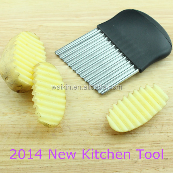 2016 New Manual Vegetable Crinkle Potato Cutter