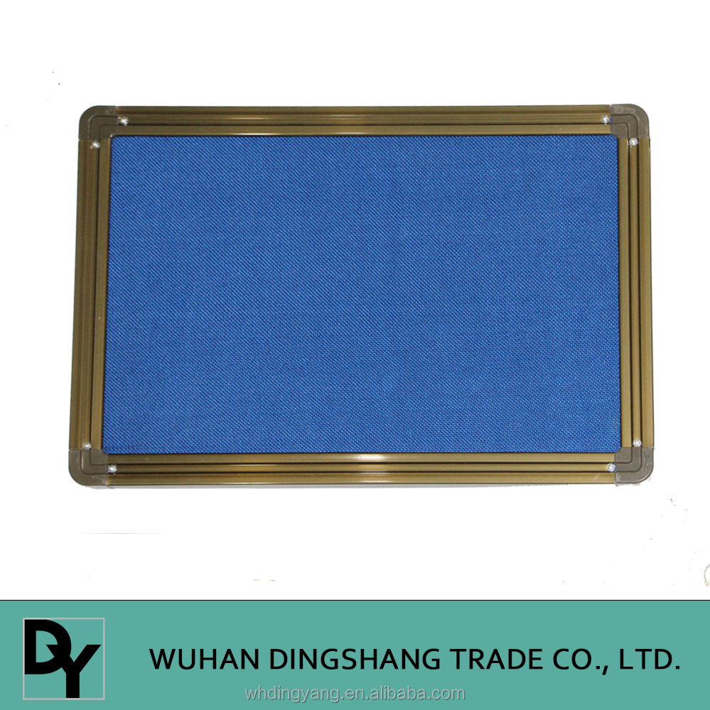 Wall mounted soft mat board and aluminum frame pin board for school