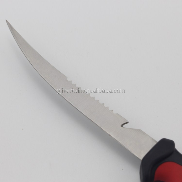 Hot Selling Stainless Steel Fixed Blade Fishing Fillet Knife