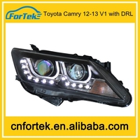 car headlight manufacturer Toyota Camry 12-13 with DRL factory price car headlight booster