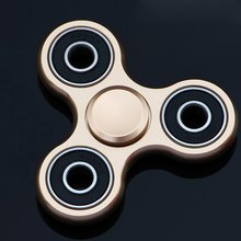 Hand Spinner Aluminium alloy Durable Drop-resistance Lasting 4min spinning Stainless Steel Bearing classic Anxiety Relief Toys
