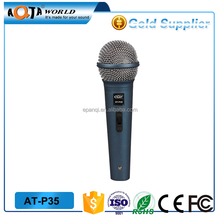 hot sale cheap noise canceling dynamic plastic wired microphone for portable speaker