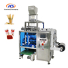 Automatic Multi- Line Liquid Tomato Sauce Sachet Ketchup Jelly Honey Stick Packing Machine