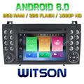 WITSON Octa-Core(Eight Core) Android 6.0 CAR DVD For BENZ SLK200/SLK280 SLK350/SLK55 2004-2012 2G ROM 1080P TOUCH SCREEN 32GB
