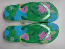 lady flat flip flop slipper