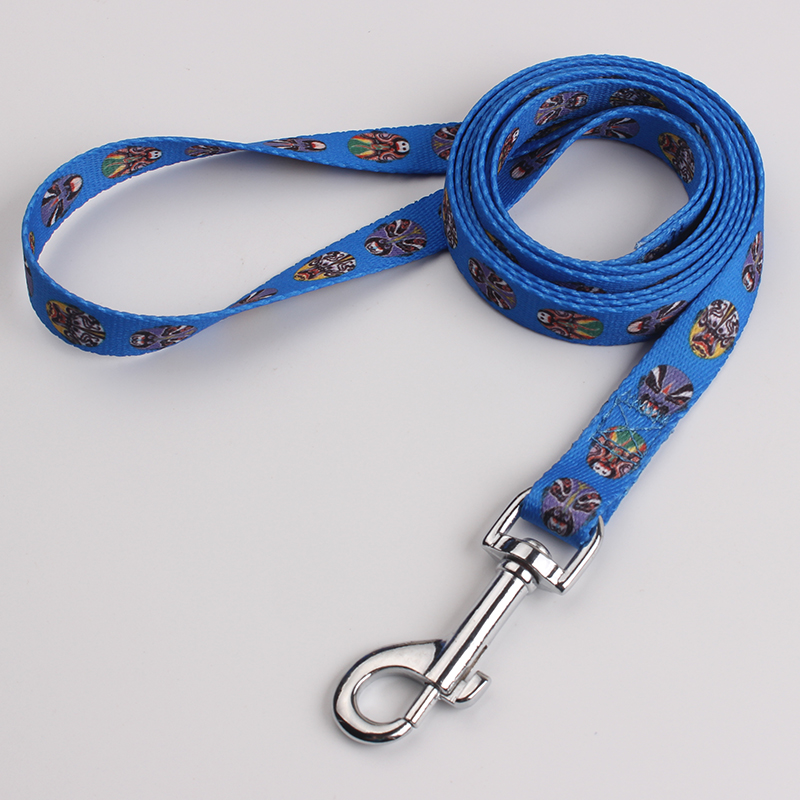 High quality custom logo nylon dog harness and leash