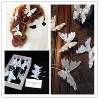 Fancy Butterfly Flowers Bridal Hair Accessories NW51119