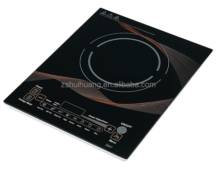 Super slim intelligent household microcomputer induction cooker
