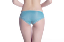 Bestdance Lace Sexy Sky blue underpants lingerie Briefs G-String for women OEM