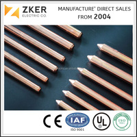 Resonable Price Electric Copper Weld Steel Earthing Grounding Rod