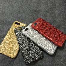 Bling Glitter Shiny Plastic Hard back case For iPhone 4s 5c 5 5s SE 6 6s 7 Plus