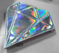 Kiss beauty factory in stock makeup 10pcs unicorn brush with Diamond Bag